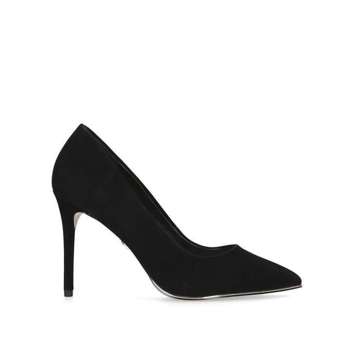 7bbeece32a Audley Black High Heel Court Shoes By Kurt Geiger London | Kurt Geiger
