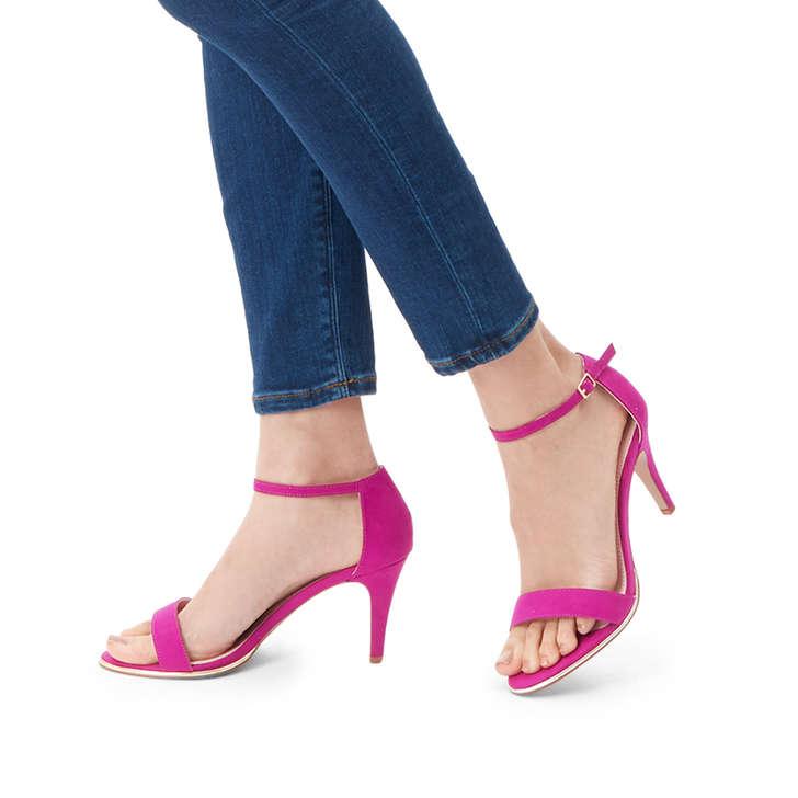 By Heel Sandals Mid Kink CarvelaKurt Geiger Purple R4L5Aq3j