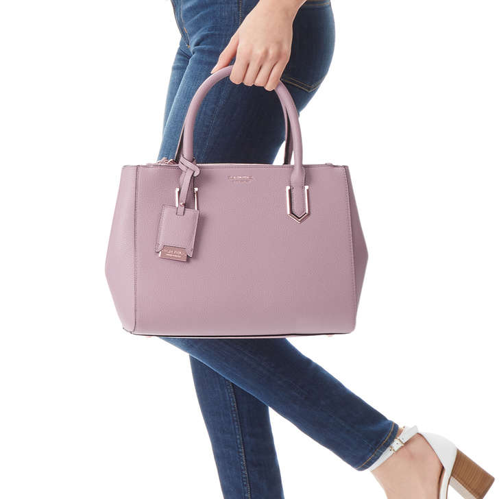 713c5ec66c83 Sunny Double Zip Tote Pink Tote Bag By Carvela