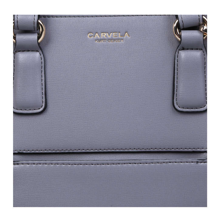 2e04932621ea Simba Pocket Purse Tote Grey Tote Bag By Carvela