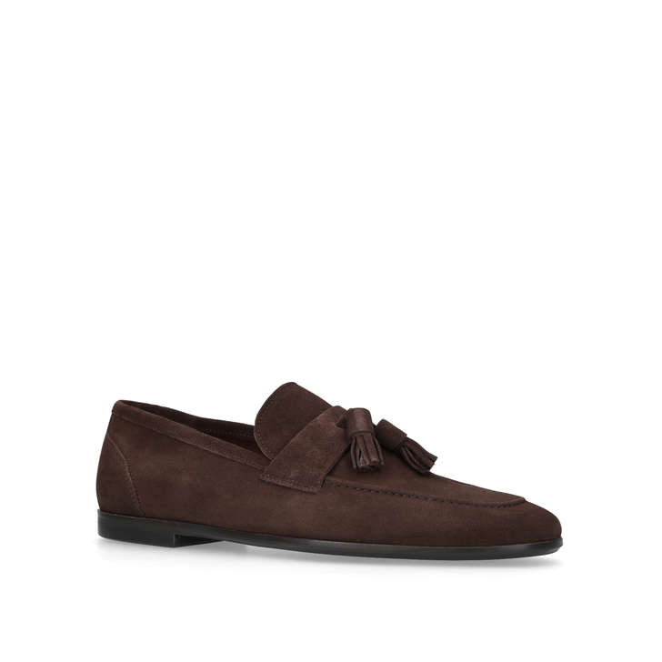 Danza Suede Loafers - Black Kurt Geiger