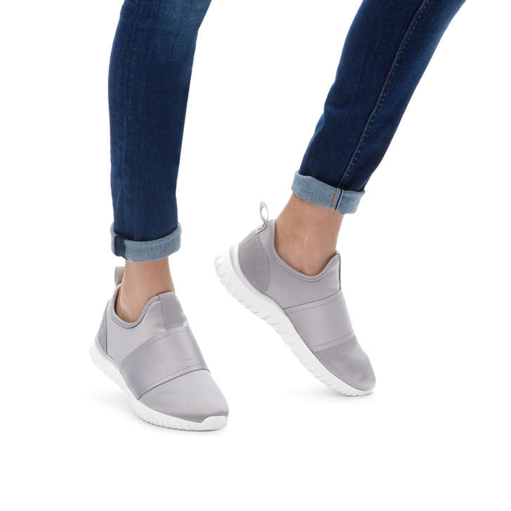Lyla Grey Low Top Trainers By Miss KG