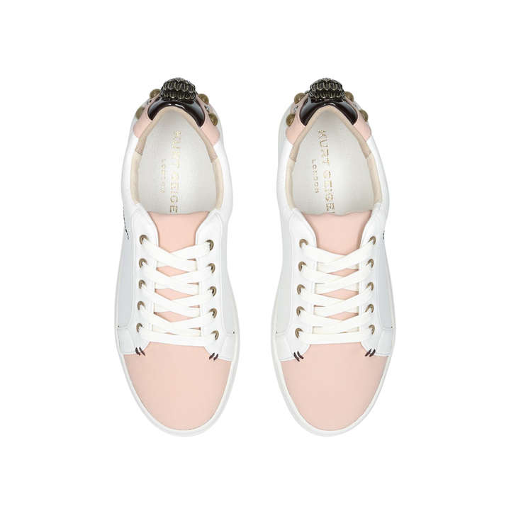 Kurt Geiger Ludo - nude low top trainers