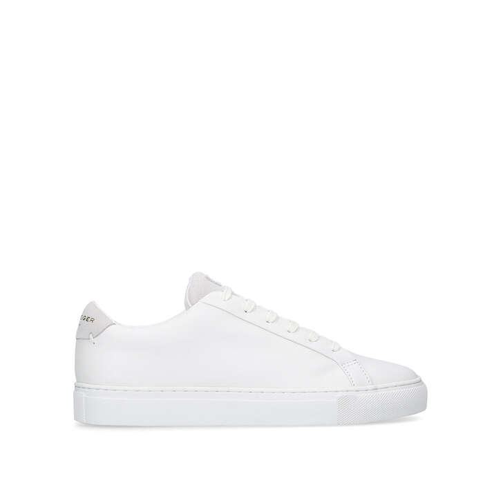 LANE White Low Top Sneakers by KURT