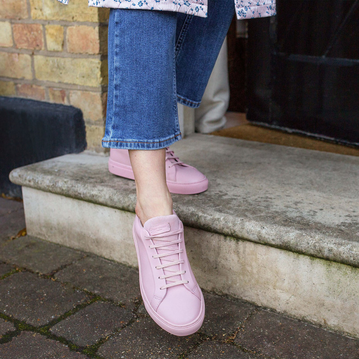 Lane Pink Low Top Trainers By Kurt