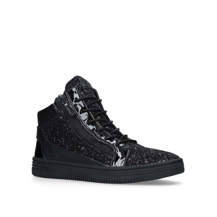 Jacobs Black High Top Trainers By Kurt