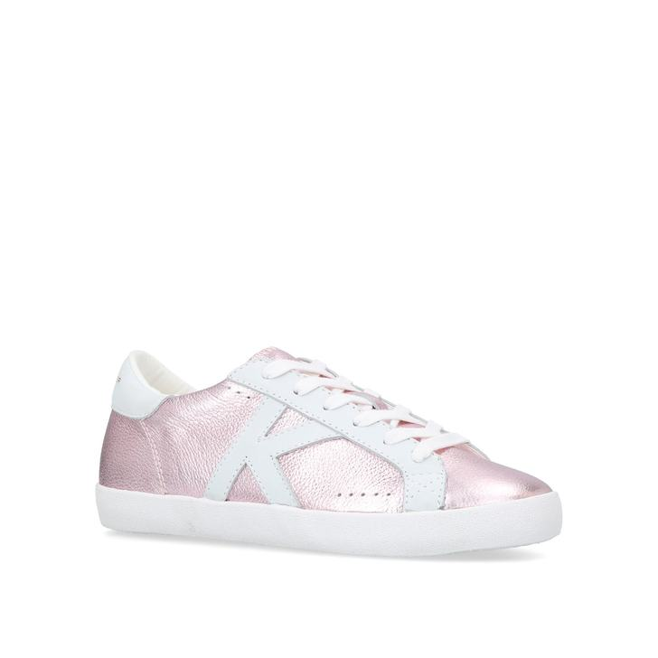 Leif Pink Low Top Trainers By Kurt