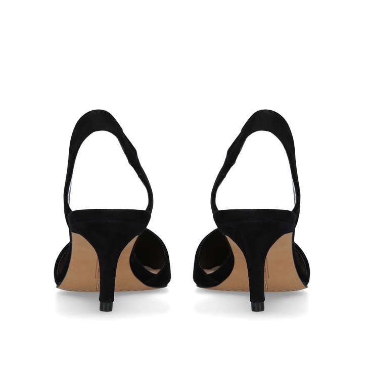 5d631a89554f Kolissa Black Low Heel Pumps By Vince Camuto