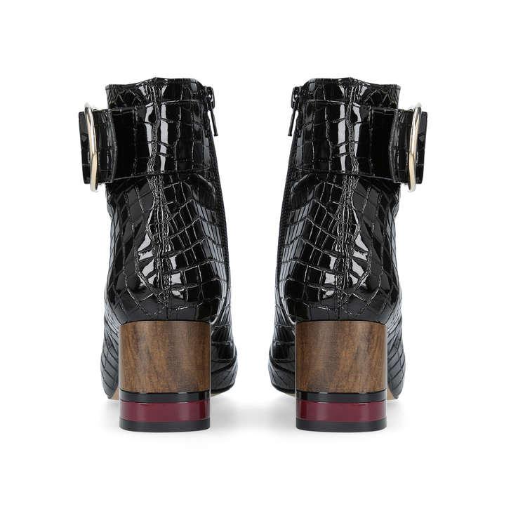 89afd24da15 Ringo Black Mid Heel Ankle Boots By Kurt Geiger London | Kurt Geiger