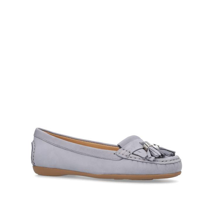 Comfort Geiger Carvela By Loafers Kurt Flat Chloe Grey w1xBq06nSX