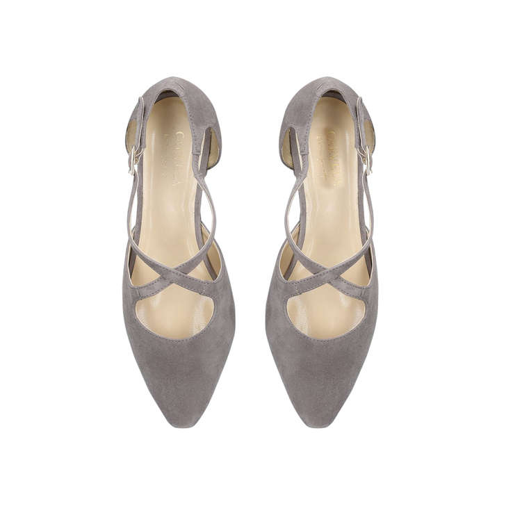 41632a580cf Amour Taupe Low Heel Court Shoes By Carvela Comfort
