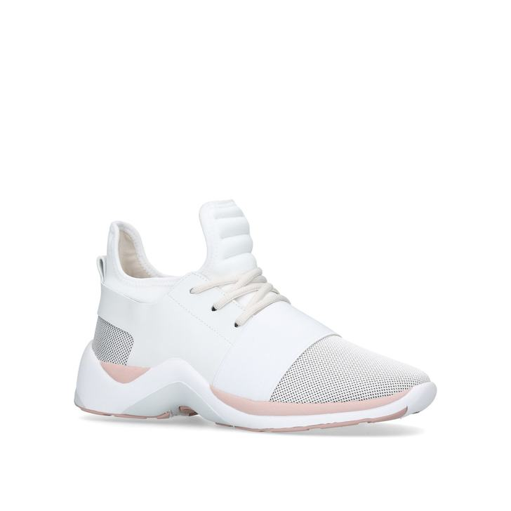 3ad2c1c7761 Linford White Low Top Trainers By Kurt Geiger London
