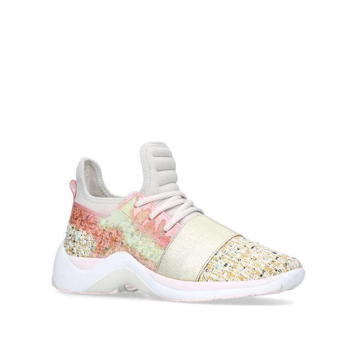 d71a77bbfe2 Linford Nude Low Top Trainers By Kurt Geiger London