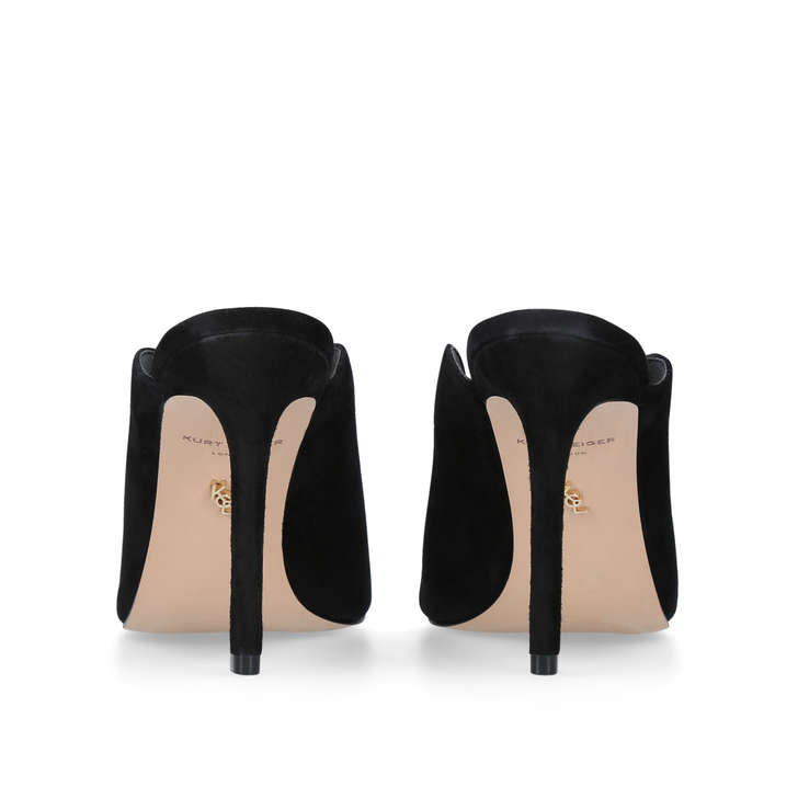 Kurt Geiger Berwick - black high heel mules Deals Sale Online 6e7tGAv