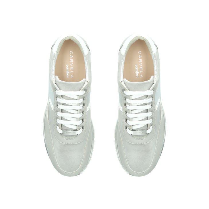 Cecil Grey Low Top Trainers By Carvela