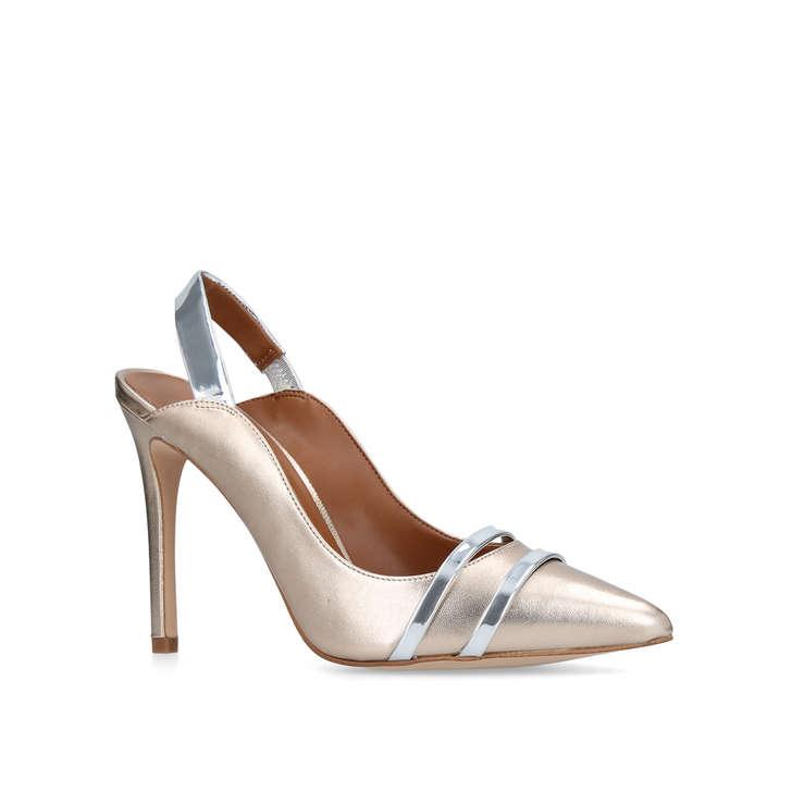 Alberta Metallic High Heel Court Shoes By Carvela Kurt Geiger Q0Vt94tx