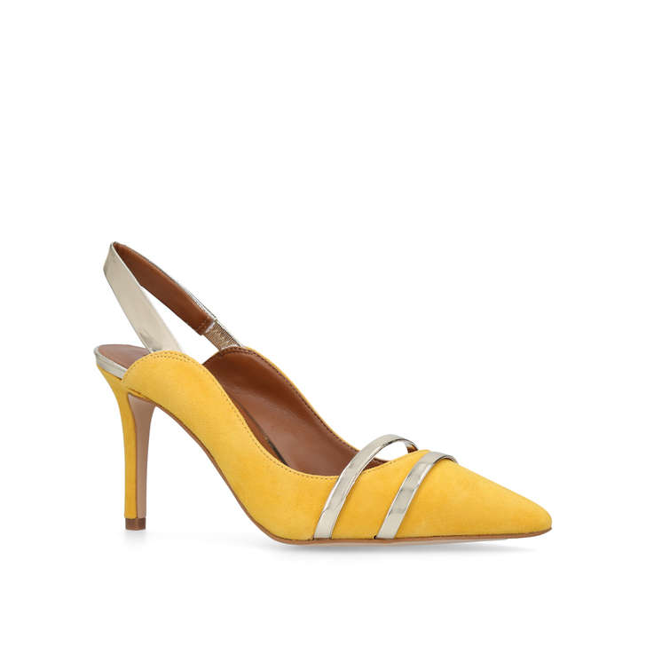 87cdf661a4 Berkley Yellow Mid Heel Court Shoes from Kurt Geiger London £139 (very much  a Malone Souliers vibe to them...)