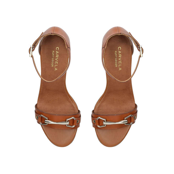 977226e2113 Kast Tan Mid Heel Sandals By Carvela