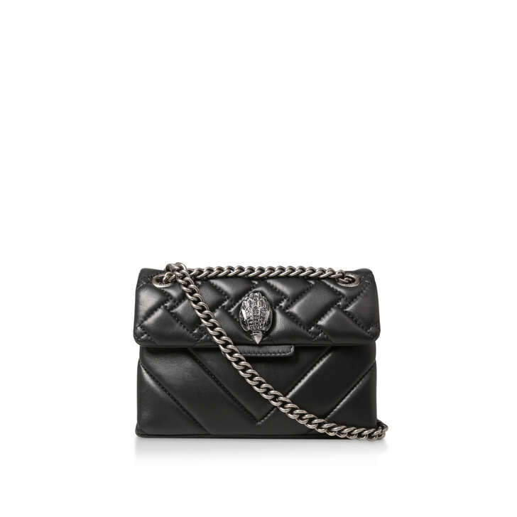 9f06cbd2118c Mini Kensington X Bag Black Shoulder Bag By Kurt Geiger London | Kurt Geiger