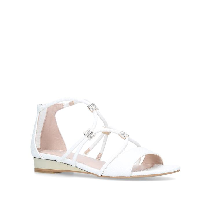 White 'Ace' flat sandals outlet best wholesale cheap deals eastbay online cheap footlocker footlocker pictures cheap online 9r0ZwT