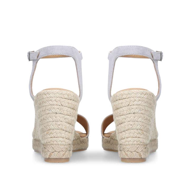 Carvela Krystal Wedge Heel Sandals, Suede