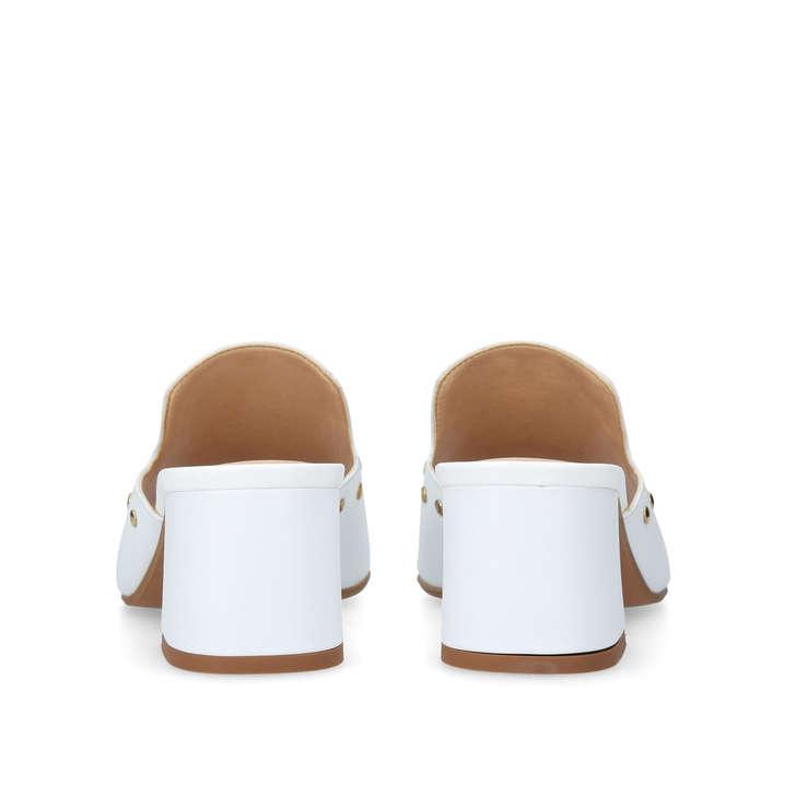 Carvela Koo - white block heel sandals Safe Payment Outlet 2018 3uiZN3PnH