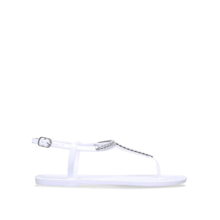 Black 'Brisk' flat sandals cheap sale explore 3kvWs0ydb