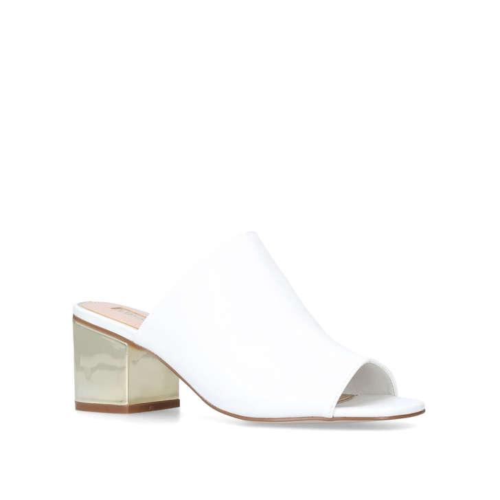 Miss KG PEGGY - Heeled mules - white BMqyycIM09