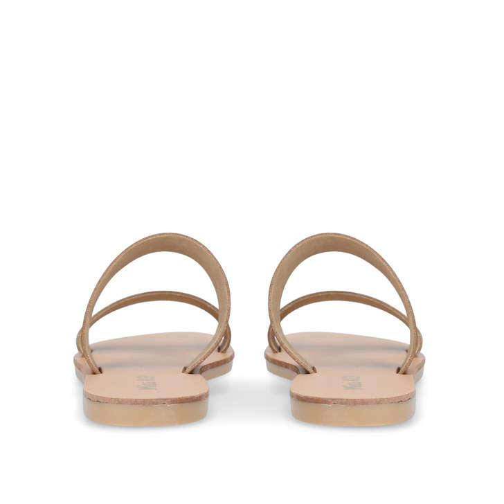 Tan 'Revel' flat sandals cheap new styles 2El5YslSj