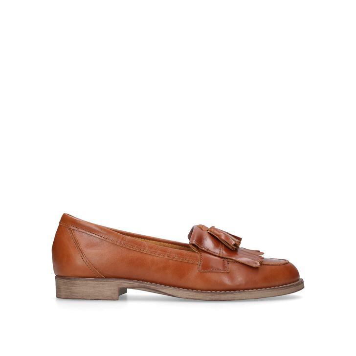 ef706217271 Klarke. Tan Flat Loafers