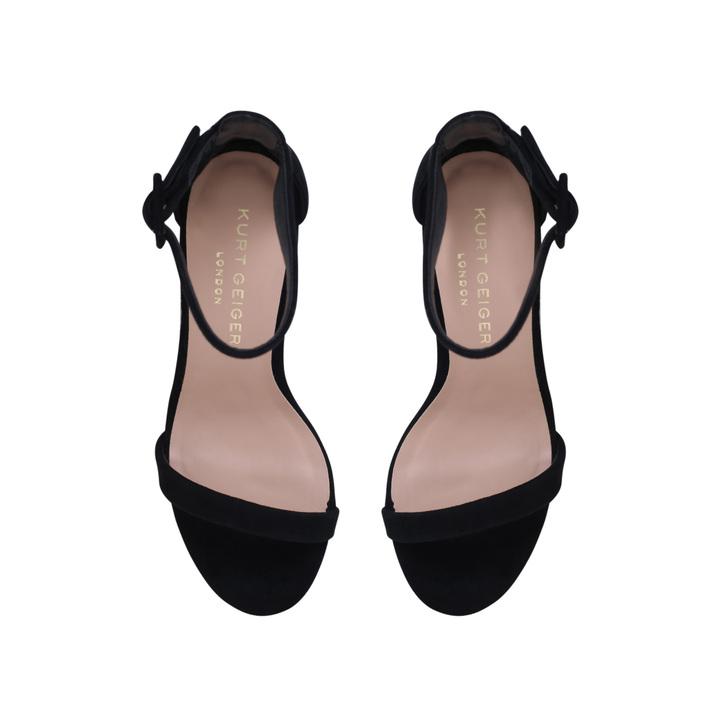 cfc80def005 Langley Black Mid Heel Sandals By Kurt Geiger London | Kurt Geiger