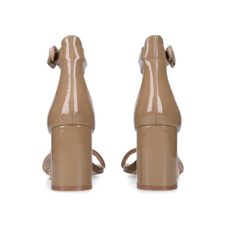 53388e14981 Langley Nude Mid Heel Sandals By Kurt Geiger London | Kurt Geiger