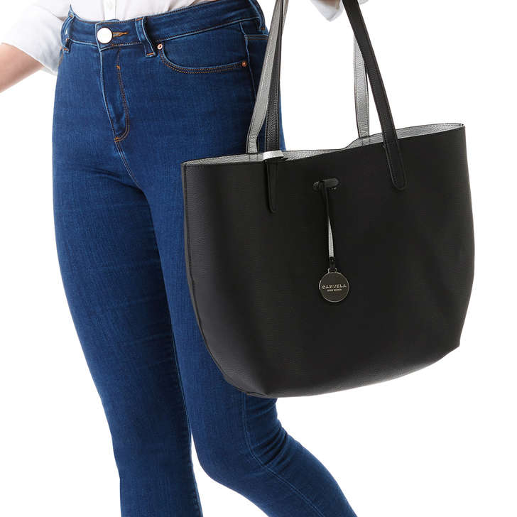 Reversible Tote Bag - Black Carvela Sale Store Eytg4N