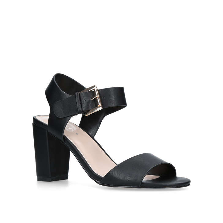 Sast For Sale Cheap Order Kurt Geiger Francine - black open toe sandals Amazon Cheap Price Free Shipping Factory Outlet 1ufCsBxy