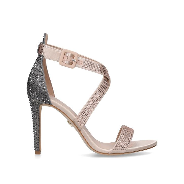 Kurt Geiger Knightsbridge jewel - metallic high heel sandals