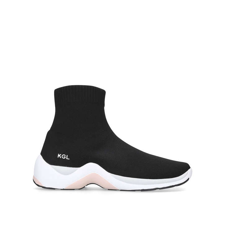 Kurt Geiger LINFORD - High-top trainers - black tcnLaVLlE