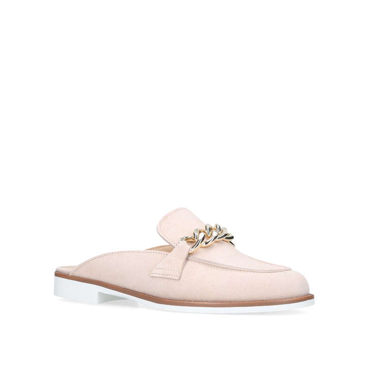 Nude 'Layla' flat slip on loafer mules best store to get cheap price 100% original sale online free shipping best prices discount fast delivery discount under $60 QyhzrLo9