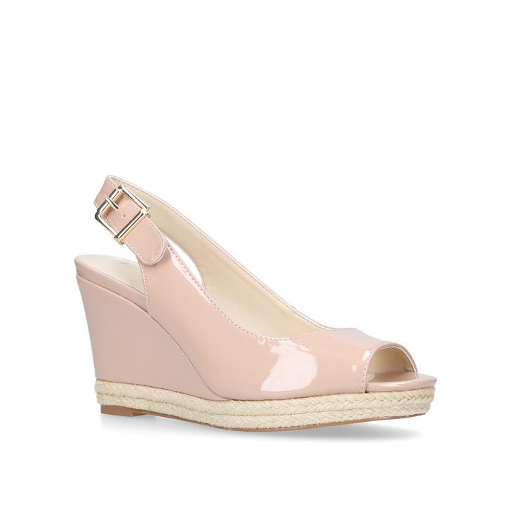 sale for sale Gold 'Dionne' mid heel wedge sandals best cheap price discount visit new free shipping deals supply xQQNlW7tZ