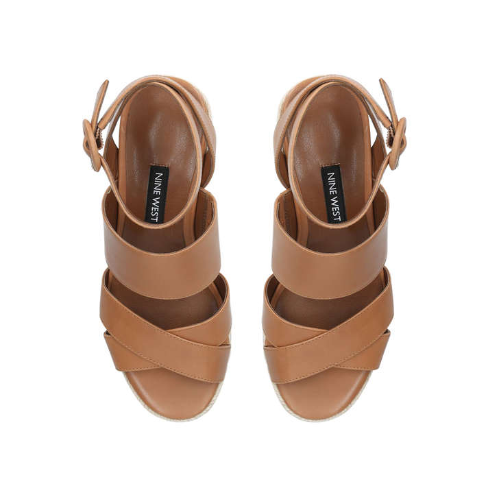 1761722d59c Kushala Tan Wedge Sandals By Nine West