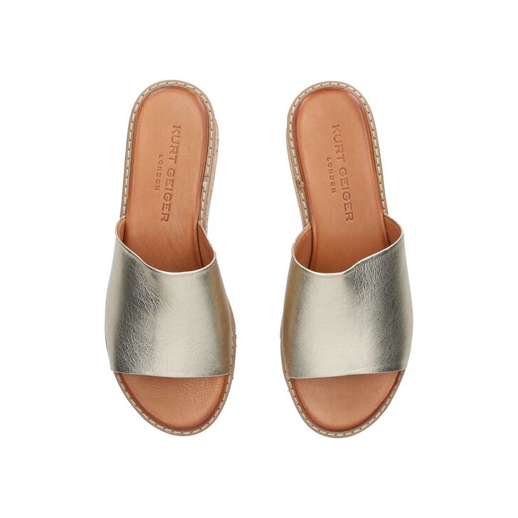 5940f42a58b Maci Metallic Flatform Sandals By Kurt Geiger London