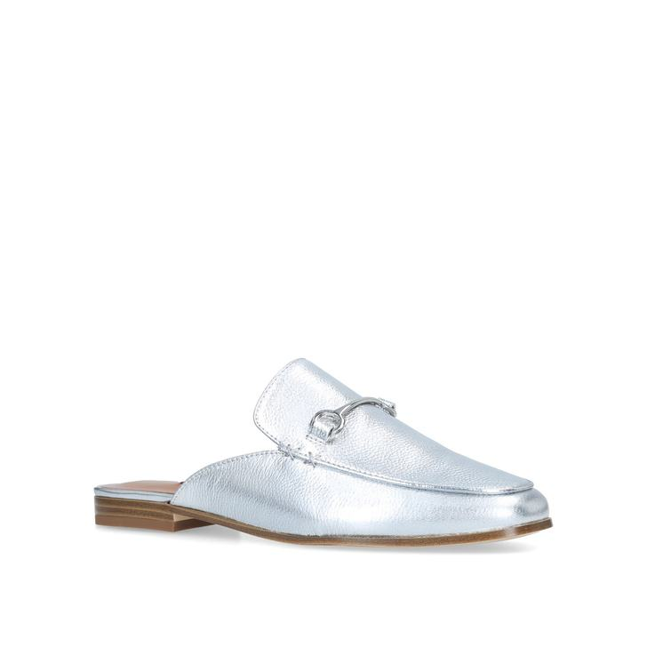 Silver 'Walkos' leather loafers discount cheap sale amazing price cheap countdown package best seller discount cheapest price VaCll