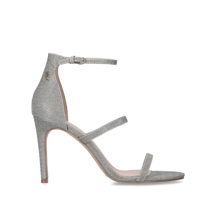 PARK LANE Silver High Heel Strappy