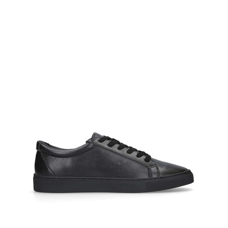 WHITWORTH Black Low Top Trainers by KG