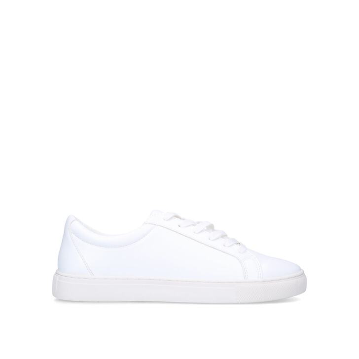WHITWORTH White Low Top Trainers by KG