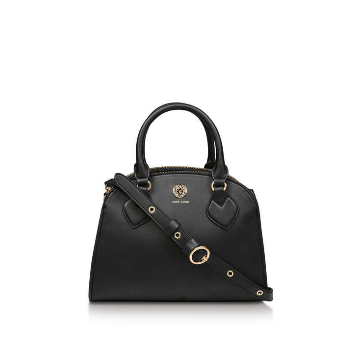SIGNATURE DBL ZIP SATCHEL
