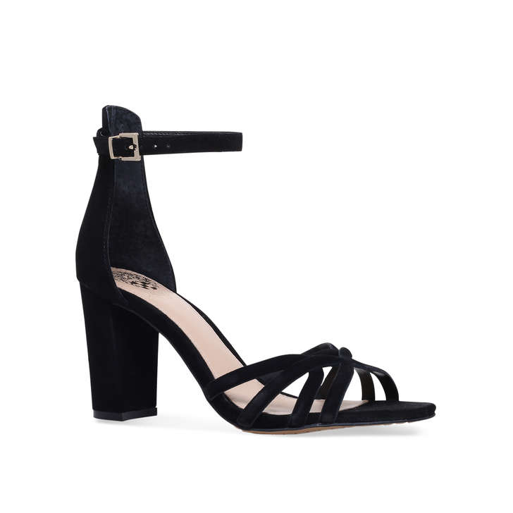 da4c28220e7 Catelia Black Block Heel Sandals By Vince Camuto