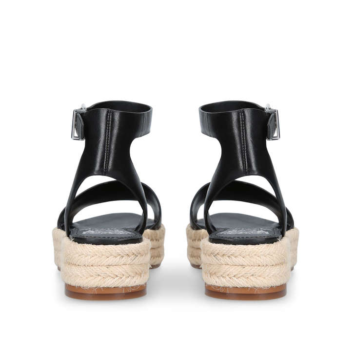 ceea52dcf62 Kathalia Black Flatform Sandals By Vince Camuto