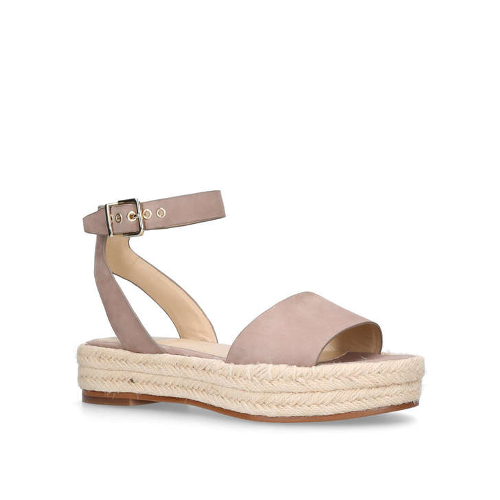 sale outlet store Nude 'Kathalia' flatform sandals buy cheap low price fee shipping sale how much NrtYyXpH