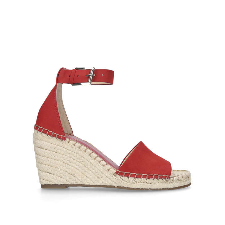 Red 'Leera' high wedge sandals 2015 new cheap price discount cheapest price 1tNOUW8g