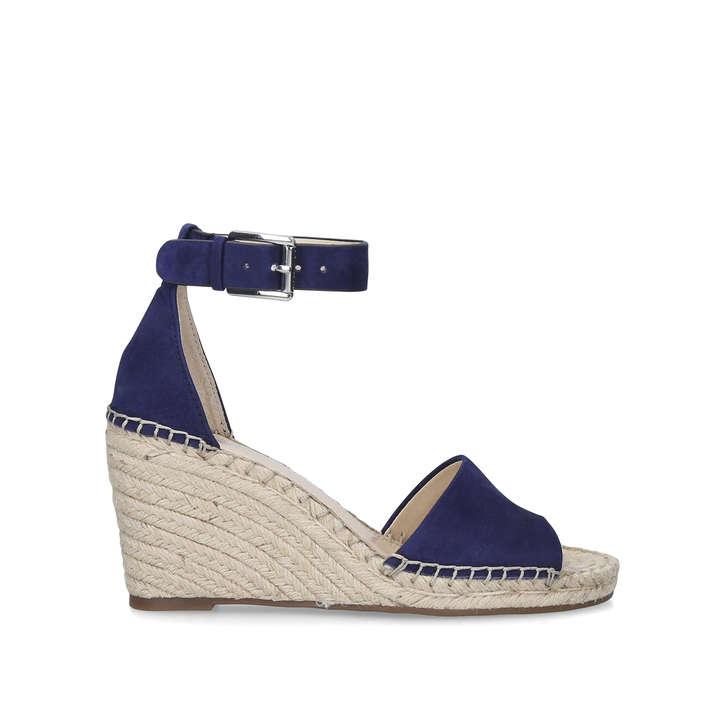 ba51998e2d Leera Navy Espadrille Wedge Sandals By Vince Camuto | Kurt Geiger